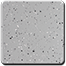 Granite White Silver Gray 1/8 Medium Spread