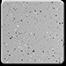 Granite White Silver Gray 1/8 Medium Spread