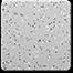 Quartzite Silver Gray 1/8 Medium Spread